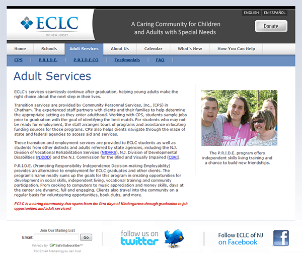 ECLC of New Jersey
